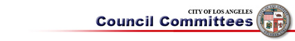 City of Los Angeles Council Committees